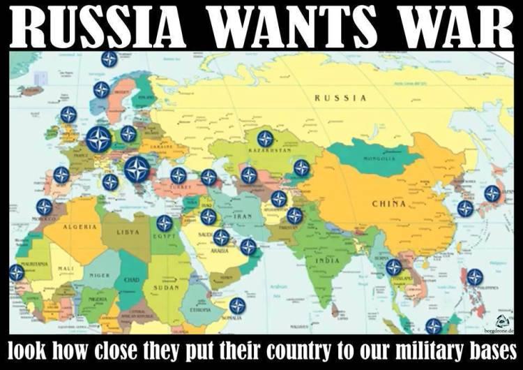 Russia Wants War!